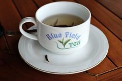 Tea cup with silver tulips tea (maddalena monge) Tags: teaplantation liptontea goldentulipstea srilanka ceylon
