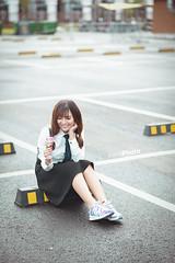 E7 (erik_bui_89) Tags: woman cute student nikon human beautifull emart