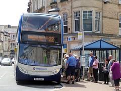 27 June 2016 Teignmouth (13) (togetherthroughlife) Tags: bus june 22 devon stagecoach scania teignmouth 2016 15668 wa10ghk