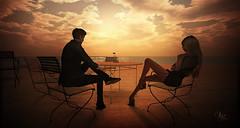 Under the Rays of Sunrise at Furillen (Vita Camino) Tags: beach camino places sl secondlife anthony romantic vita gartner slur destinations