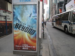 Star Trek Beyond Poster Billboard Phone Booth AD 2016 NYC 1896 (Brechtbug) Tags: show street new york city nyc fiction film television st trek booth movie poster star tv jj theater phone mr theatre near manhattan district space rip ad broadway science billboard midtown sidewalk ave captain spock scifi series beyond anton 1960s avenue abrams 7th futuristic kirk 42nd 2016 standee standees yelchin 06282016