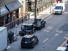 Camera Vehicles (jphenney) Tags: movie downtown cleveland filmproduction sportscars movieprops fastfurious fastandfurious8