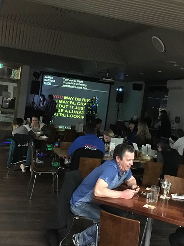 Groove karaoke in the bistro every Thursday night