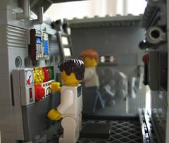 uboot1 (Franckfbe) Tags: lego submarine uboat minifig minifigs scenes mocs uboot wehrmacht sousmarin kriegsmarine scne miseenscne