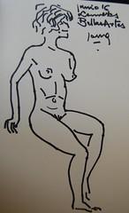 Crculo de Bellas Artes (GimBo AkimBo) Tags: pintura drawing sketch print texture crculodebellasartes circulodebellasartes figuredrawing femalefigure nude cartoon cba madrid crculo artes crculodebellasartesmadrid mujer woman art