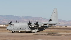168067  'QB-067'  KC-130J  USMC  VMGR-352  'Raiders' (Churchward1956) Tags: arizona phoenix usmc aviation az marines c130 airfield raiders mcasmiramar vmgr352 kc130j phoenixmesagatewayairport 168067 qb067 harvesthawkfit