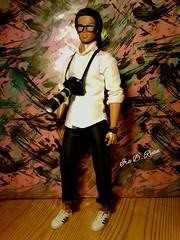 Damon (krixxxmonroe) Tags: ira d ryan photgraphy krixx monroe styling ooak custom camera handsome damon aa barbie basics ken
