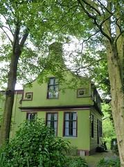 Green House - Westzaan  explored 05-07-2016 (Roel Oortwijn) Tags: westzaan groen green huis house fz38 panasonic lumix boom tree architecture architectuur klassiek classic zaanse stijl holland netherlands dutch inexplore explore
