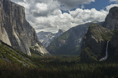 Just Another Tunnel View (shaunezell) Tags: travel timelapse sony tourist yosemite yosemitenationalpark yosemitevalley tunnelview sonya7