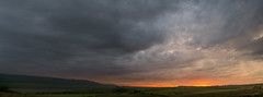 Storm (Trojan Wonder) Tags: storm clouds southdownsnationalpark sun hills thunder sunset downs rain sussex worthing