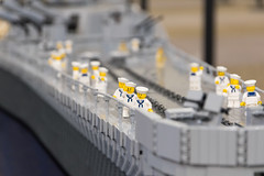 World War Brick 2016 (Dread Pirate Wesley) Tags: world brick war lego missouri battleship uss brickmania