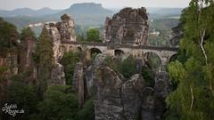 Bastei II (judithrouge) Tags: bridge mountain fels brücke bastei sächsischeschweiz elbsandsteingebirge saxonswitzerland elbesandstonemountains