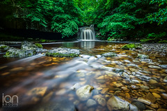 West Burton Waterfall (ianbrodie1) Tags: west burton waterfall north yorkshire longexposure rocks water fall nikon d750 haida 10 stop trees green outdoors river reflections