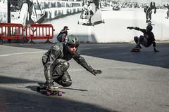 Black Skater (Juan Ig. Llana) Tags: muro mono grafiti downhill skate deporte skater zb velocidad bizkaia casco pintura cuesta cuero erandio descenso monopatn xtremegames altzaga