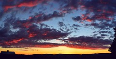 2016_0616Highland-Farms-Sunset-Pano0002 (maineman152 (Lou)) Tags: sunset sky panorama sun nature june skyscape landscape glow maine scenic skyview afterglow naturephotography aftersunset skyscene scenicview landscapephotography naturephoto skycolor skycolors skydrama landscapephoto
