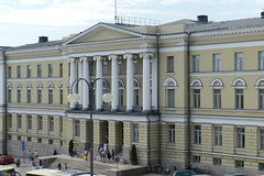 Plaza del Senado Universidad de Helsinki Finlandia 01 (Rafael Gomez - http://micamara.es) Tags: plaza del de helsinki y centro senado universidad finlandia