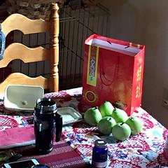 Pears and Tea_still life_1252 (glantine) Tags: pears tea cheznous naturemorte poires