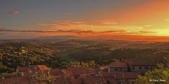 Toskana - 07101509 (Klaus Kehrls) Tags: italien panorama sonnenuntergang himmel wolken landschaft toskana palaia abendstimmung