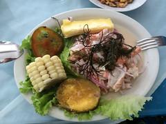 """Trujillo: cebiche de crevettes avec patate douce et manioc <a style=""""margin-left:10px; font-size:0.8em;"""" href=""""http://www.flickr.com/photos/127723101@N04/27773100636/"""" target=""""_blank"""">@flickr</a>"""