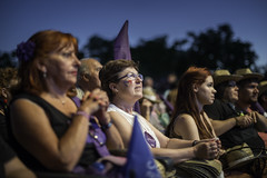 End act of the election campaign of Unidos Podemos in Madrid / Cierre de la campaa electoral de Unidos Podemos en Madrid (Adolfo Lujan) Tags: madrid espaa spain elections elecciones electioncampaign podemos pabloiglesias campaaelectoral unidospodemos thesmileofacountry lasonrisadeunpais