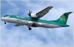 (Riik@mctr) Tags: airplane manchester airport outdoor aircraft air msn aer regional lingus atr 1325 egcc stobart 4272 eifna