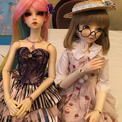 Lisa's Tea Party! (shujinkakusama) Tags: dolls super bjd dollfie superdollfie volks teaparty megu sd16 meritities