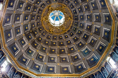 Siena - Cathedral Hexagonal Dome Interior 3 (Le Monde1) Tags: city horses italy nikon cathedral interior hexagonal unesco worldheritagesite rivers tuscany dome siena stmary elsa palio pilgrims piazzadelduomo d610 arbia santamariaassunta merse viafrancigena lemonde1