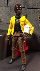 Young Willrow Hood Rebel currier and part time ice cream maker (chevy2who) Tags: black toy star action esb figure dio hood series wars custom diorama customstarwars willrow customblackseries customwillrowhood