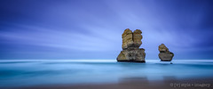 Gog & Magog - Long Expo ([v] style + imagery) Tags: longexposure victoria greatoceanroad 12apostles portcampbell gogmagog