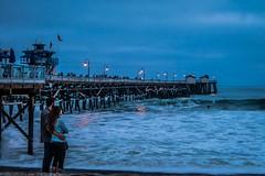 San Clemente Love (seajon1) Tags: ocean california love pier san waves pacific clamente