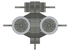 SSXDragonshark007 (Dragonov Brick Works) Tags: lego submarine snot ldraw microscale studless