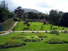 Walled gardens at Kylemore Abbey (midvale2) Tags: ireland kylemore