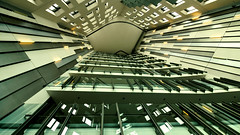 sky view         in Explore (petra.foto busy busy busy) Tags: treppenhaus eingang foyer hamburg germany hafencity fotopetra canon architektur gebäude sumatrakontor kontorhaus