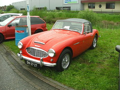Austin Healey 3000 mk I bouwjaar 1960(DH-27-27)(Ulft 20-5-2013) (Ronnie Venhorst) Tags: auto car shop austin meeting acr autos 3000 mk healey achterhoek 1960 motoren bijzondere ulft 2013 i pimpen pinster pinkstermeeting dh2727