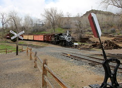 Narrow Gauge (JayLev) Tags: railroad museum colorado engine steam gauge narrow