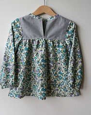 Liberty and Denim Blouse (~AgataJustyna~) Tags: sweet designs simply wink tunic