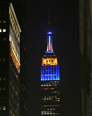 Empire State Building, New York City (European External Action Service - EEAS) Tags: ny newyork european unitedstates eu empirestatebuilding delegation