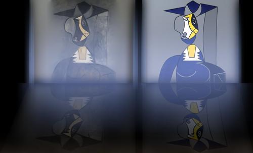 "Mujer en Gris, caracterización de Pablo Picasso (1942), recreación de Roy Lichtenstein (1962). • <a style=""font-size:0.8em;"" href=""http://www.flickr.com/photos/30735181@N00/8805335199/"" target=""_blank"">View on Flickr</a>"