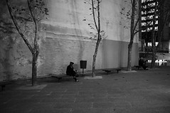 Waiting (Jon Osborne 1) Tags: park urban blackandwhite nature ecology photography scenery emotion australia melbourne victoria land environment concept emotional conceptual emotions environmentalism urbanlandscape ecosystem pacificrim concepts lonesome