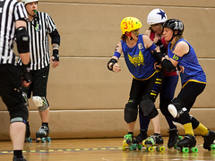 """Stockholm BSTRDs vs. Dock City Rollers-7 • <a style=""""font-size:0.8em;"""" href=""""http://www.flickr.com/photos/60822537@N07/8996353922/"""" target=""""_blank"""">View on Flickr</a>"""