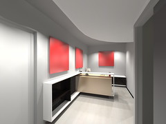 Progetto Reception e sala attesa Studio Dentistico, Latina (PICASCIA DESIGN STUDIO) Tags: studio sala reception latina attesa dentistico odontoiatrico