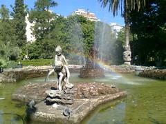 Giardino Inglese #3 (Umberto Luparelli) Tags: rainbow palermo arcenciel