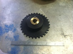 IMG_2906 (Steamboat Ed) Tags: gear trike sprocket improvements