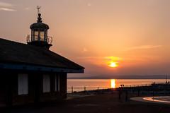 Sunset, Morecambe (Johnners61) Tags: sunset lighthouse lumix lancashire panasonic seafront morecambe stonejetty lx5