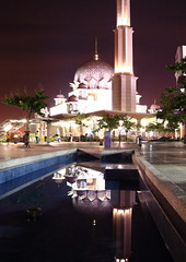 DPP_6400 (whchoy) Tags: nightphotography reflection nightscene putrajaya klcc twintower putrajayamosque