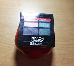 Revlon Color Stay 16 Hour Eyeshadow Palette Sea Mist Swatches (makeuptemple) Tags: color green hour 16 eyeshadow product stay reviews palette swatches revlon