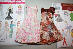 """A """"little"""" sewing project (reinap) Tags: barbieclothes"""