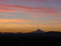 Dawn Sept 20. (CanoeBait) Tags: sunrise dawn mthood portlandoregon allrightsreserved donotuse