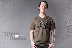 Cats on Motorcycles! (GritFX) Tags: cats motorcycles parody popculture funnytshirts