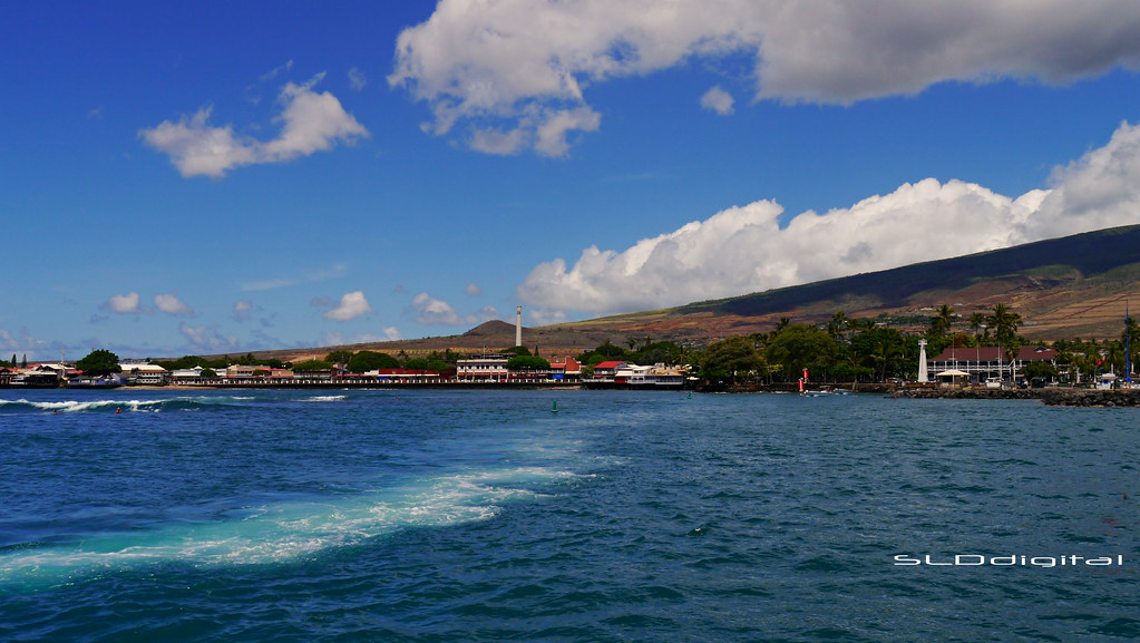 6d7e34b9adc Maui - Island View From The Pacific (SLDdigital) Tags  ocean travel  seascape clouds
